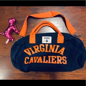 Virginia Cavaliers Pink Gym Bag